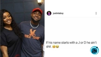 Panic as Davido's fiancee, Chioma, fuels breakup rumor with this controversial act